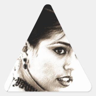 Latina Triangle Sticker