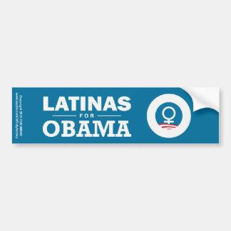 Latinas for Obama Bumper Sticker