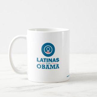 Latinas for Obama Classic White Coffee Mug