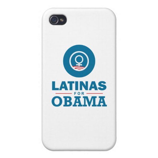 Latinas for Obama iPhone 4 Cover