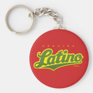 Latino auténtico - llavero (verde/rojo)