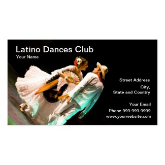latino dances club profilecard