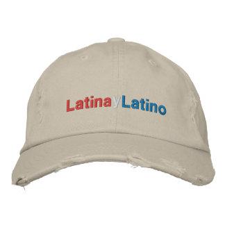 Latino de Latina y Gorra De Beisbol