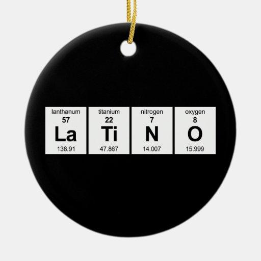 LaTiNO Ornament