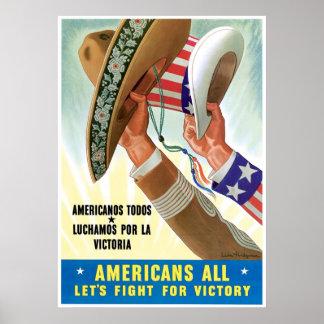 Latino Patriotism Poster