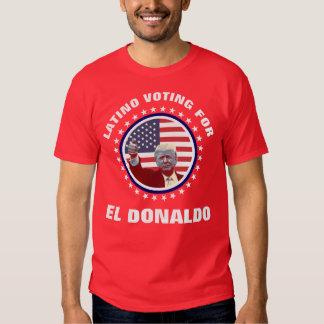 Latino que vota por el EL Donaldo Playeras