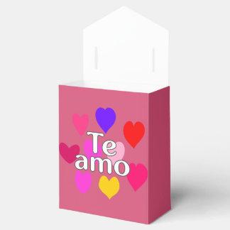 Latino - te amo caja de regalos