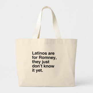Latinos are for Romney.png Bags