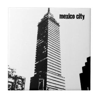 Latinos de Ciudad de México Seguros Azulejo Cuadrado Pequeño