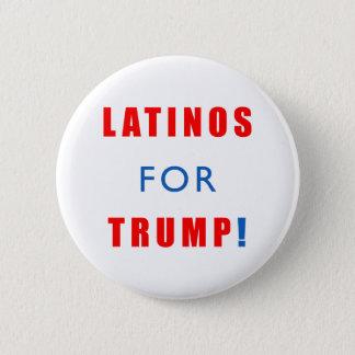 Latinos for Donald Trump Pinback Button