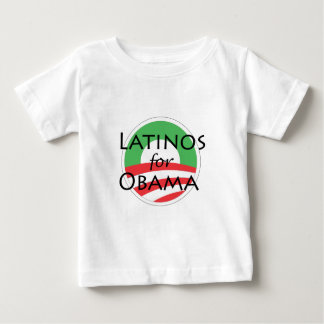 Latinos for Obama Baby T-Shirt