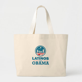 Latinos for Obama Bags