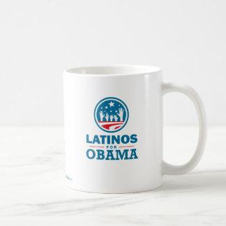 Latinos for Obama Classic White Coffee Mug