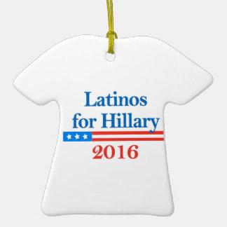 Latinos para Hillary Clinton 2016 Adorno De Reyes