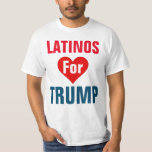 Latinos para la camiseta del triunfo