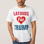 Latinos para la camiseta del triunfo playera