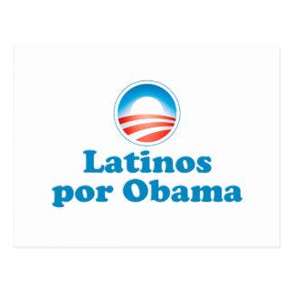 Latinos por Obama Post Cards