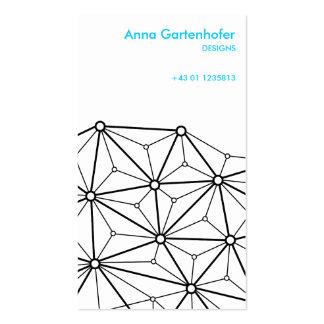 Latitude and Longitude Business Card