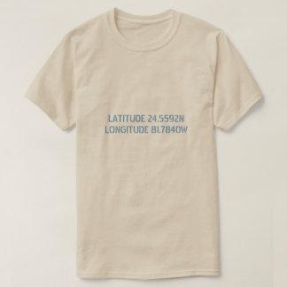 Latitude and Longitude Custom Shirt