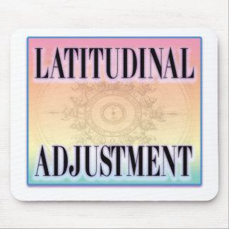 """""""Latitudinal Adjustment"""" Mouse Pad"""
