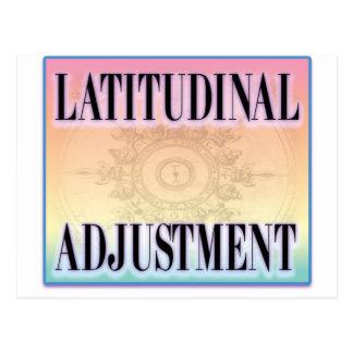 """""""Latitudinal Adjustment"""" Postcard"""