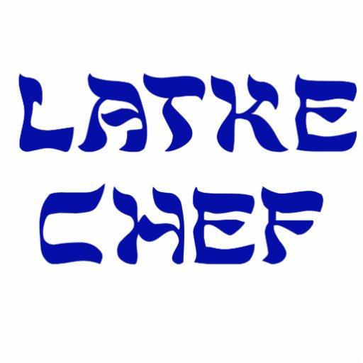 Latke Chef Photo Cut Out