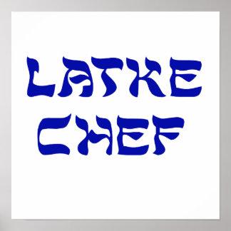 Latke Chef Posters