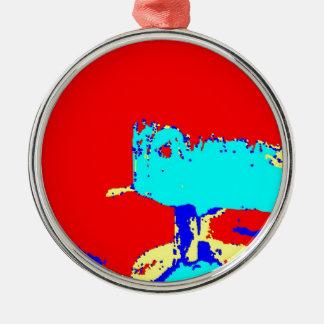 Latón C de la abrazadera Ornamento Para Arbol De Navidad