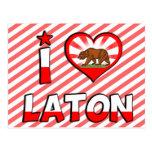 Laton, CA Postales