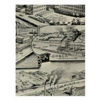 Latón Co de Birmingham Tarjetas Postales