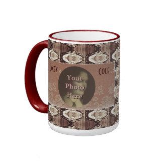 Latón de Steampunk y taza conmemorativa de la foto