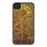 Latón e iPhone de bronce 4 de Steampunk iPhone 4 Funda