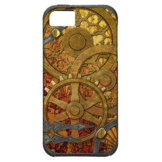 Latón e iPhone de bronce 5 de Steampunk Funda Para iPhone 5 Tough