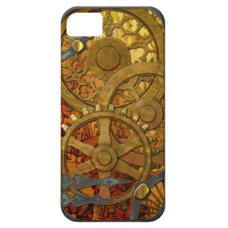 Latón e iPhone de bronce 5 de Steampunk iPhone 5 Carcasas