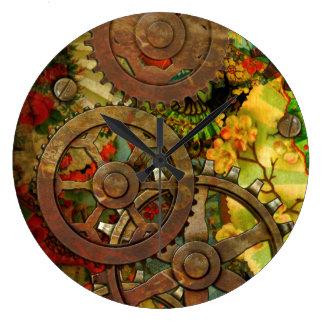 Latón enrrollado Steampunk del Victorian Relojes