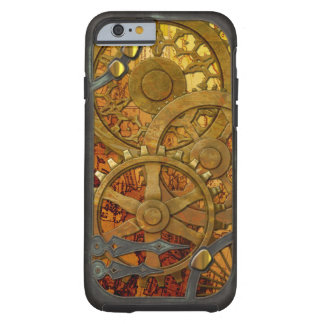 Latón y caso de bronce del iPhone 6 de Steampunk Funda De iPhone 6 Tough