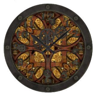 Latón y cobre de Steampunk con la cara Relojes