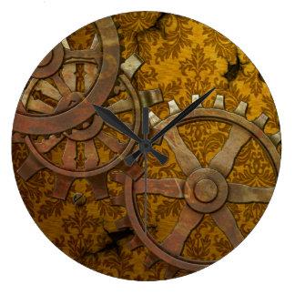 Latón y oro Steampunk Reloj
