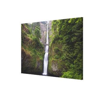 Latourell Falls & Bridge Columbia River Gorge Canvas Print