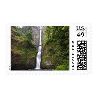 Latourell Falls & Bridge Columbia River Gorge Stamp