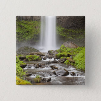 Latourell Falls, Columbia River Gorge, Oregon, Button