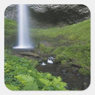 Latourell Falls, Columbia River Gorge, Oregon, Square Sticker