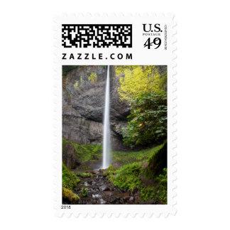 Latourell Falls In Guy W Talbot State Park Stamp