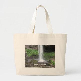 Latourell Falls, Oregon Jumbo Tote Bag