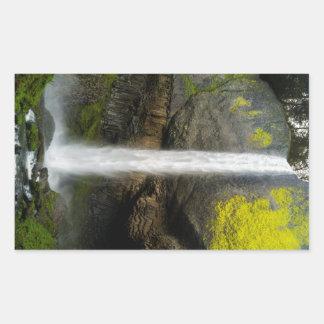Latourell Falls Rectangular Sticker