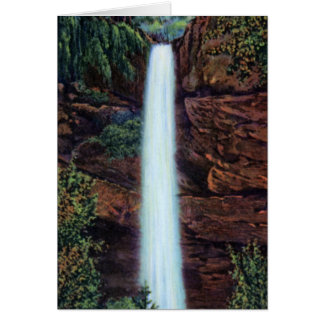 Latourell Oregon Latourelle Falls Card