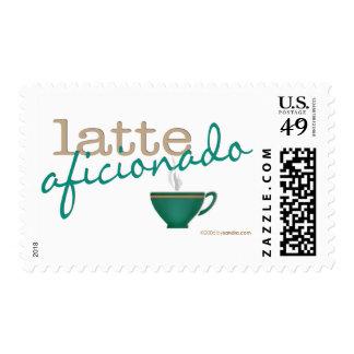 Latte Aficionado Stamps