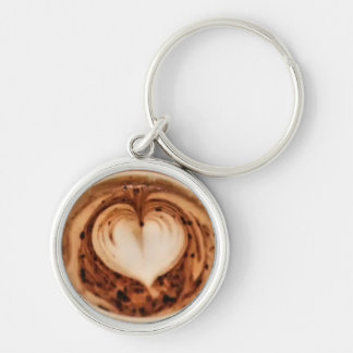 Latte Art #3 Key Chain