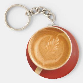 Latte Art Keychains