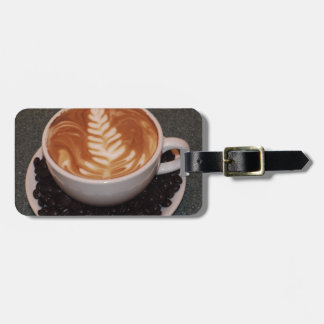 Latte Art Travel Bag Tags